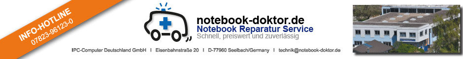 Notebook Reparatur Service notebook-doktor.de