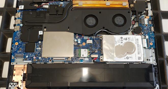 Notebook Einschalttaste defekt an einem Lenovo Y520-15IKBN