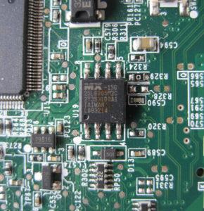 25L8005 8MBit Baustein von Macronix