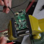 Messungen an dem Powerboard für ein Medion MD98100