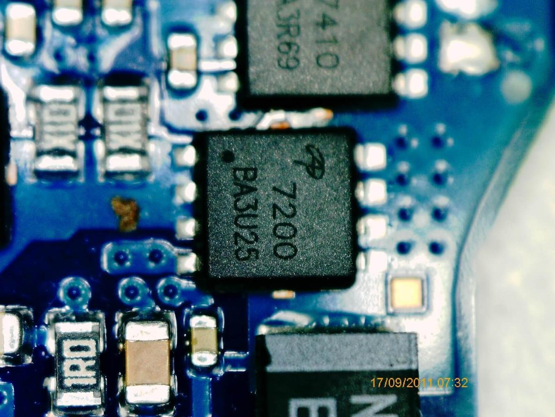 defekter MOSFET