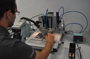 BGA Lötstation in unserer Notebook Reparatur Werkstatt