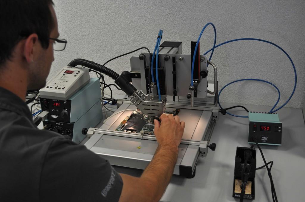 BGA-Entlötmaschine für den Wechsel von VGA Chips