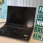 Fujitsu LiefeBook NH532 bringt kein Bild