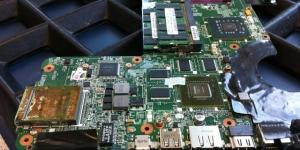 Mainboard für ein HP HDX18 Notebook mit refurbished VGA-Card