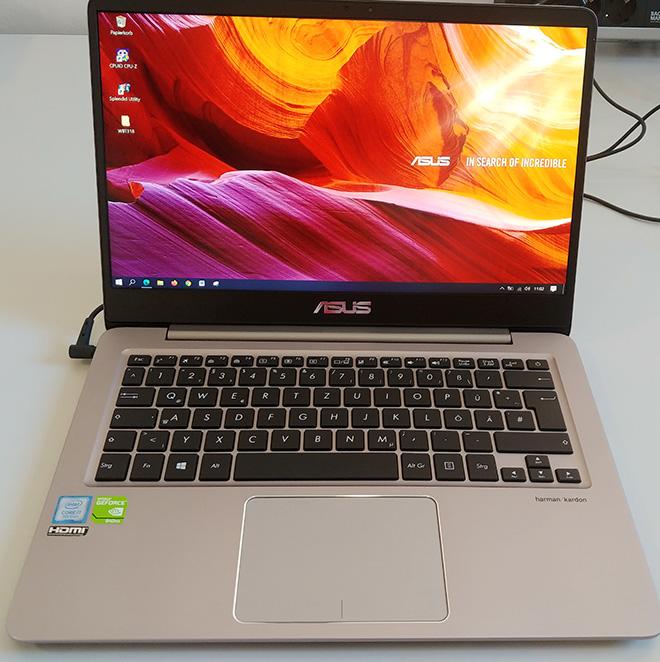 Mainboardtausch am ASUS ZenBook: Mit dem neuen Mainboard funktioniert beim ZenBook die Tastaturbeleuchtung nicht mehr.