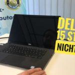 Ein typisches Notebook Fehlerbild: Notebook startet nicht. DELL XPS 15