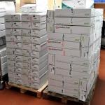 Anlieferung von Acer Notebooks
