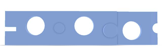 Defekter Displaydeckel Asus UX 303: Die neue Scharnieraufnahme kommt aus dem 3D-Drucker. Skizze.