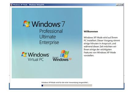 Installation von Virtual PC