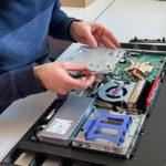 Displaytausch an LENOVO All-In-One PC THINKCENTRE M920Z AIO