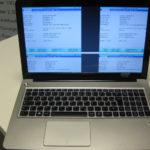 Notebook Display Reparatur: Gleich viermal wurde das Bild auf dem Display des Lenovo Ideapad u510 angezeigt. Ein Fehler den es früher öfter gab, heute jedoch selten ist.