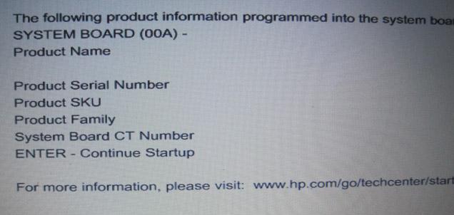 Flüssigkeitsschaden HP ProBook Fehlermeldung