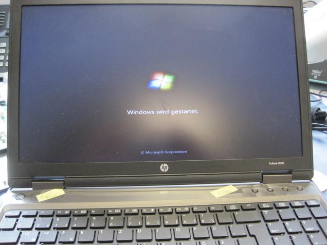 Flüssigkeitsschaden HP ProBook