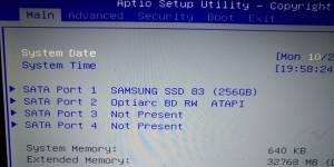 Notebook Festplatte wird nicht erkannt