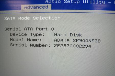 Setup der neuen SSD