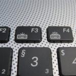 Die Tastaturbeleuchtung, deren Helligkeit üblicherweise stufenlos per FN+F3 (dunkler) und FN+F4(heller) einstellbar ist, funktionierte nach einem Mainboardtausch nicht mehr.