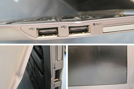 Ultrabook mit Schäden